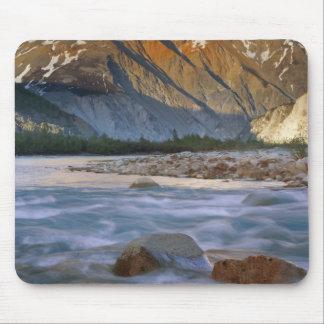 Canada, British Columbia, Alsek River Valley. Mouse Pad