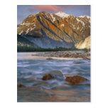 Canada, British Columbia, Alsek River Valley. Postcard