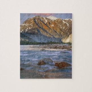 Canada, British Columbia, Alsek River Valley. Puzzles
