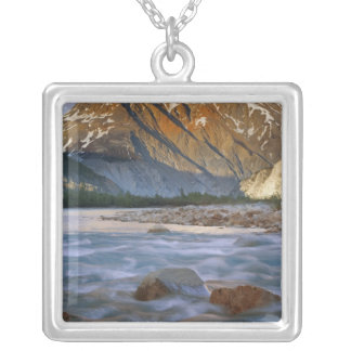 Canada, British Columbia, Alsek River Valley. Silver Plated Necklace