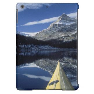 Canada, British Columbia, Banff. Kayak bow on Case For iPad Air
