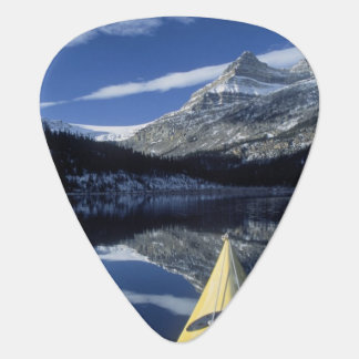 Canada, British Columbia, Banff. Kayak bow on Guitar Pick