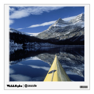 Canada, British Columbia, Banff. Kayak bow on Wall Decal