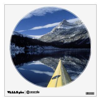 Canada, British Columbia, Banff. Kayak bow on Wall Sticker