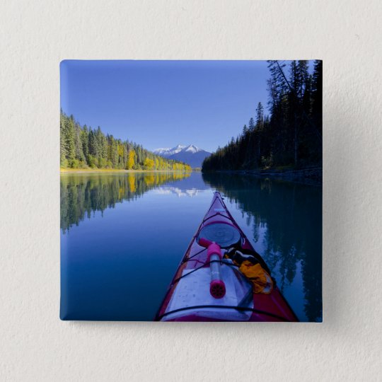 Canada, British Columbia, Bowron Lakes Button