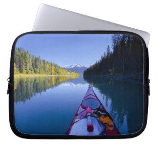 Canada, British Columbia, Bowron Lakes Laptop Computer Sleeves