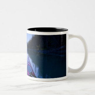 Canada, British Columbia, Bowron Lakes Two-Tone Coffee Mug