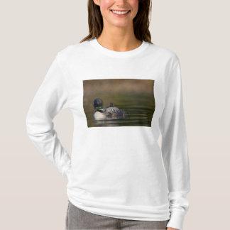 Canada, British Columbia,Common Loon, breeding 2 T-Shirt
