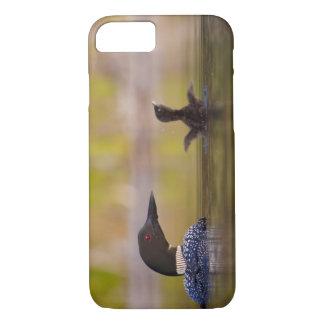 Canada, British Columbia,Common Loon, breeding 3 iPhone 8/7 Case