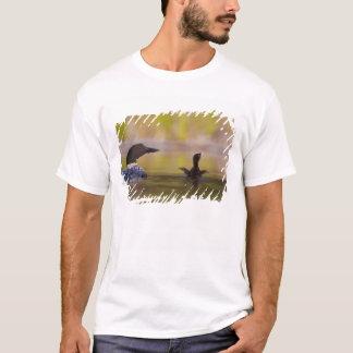 Canada, British Columbia,Common Loon, breeding 3 T-Shirt