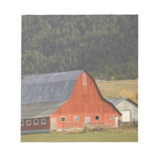 CANADA, British Columbia, Enderby. Red Barn / Notepad
