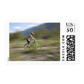 Canada, British Columbia, Fernie, Young man Postage