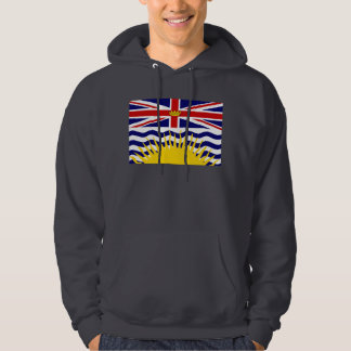 Canada British Columbia Flag Hoodie