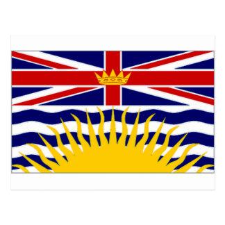 Canada British Columbia Flag Post Cards