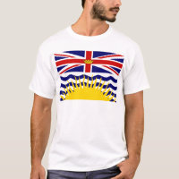 Canada British Columbia Flag T-Shirt