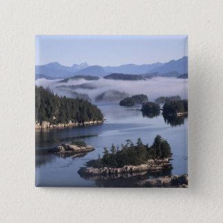 Canada, British Columbia, Johnstone Straight Button