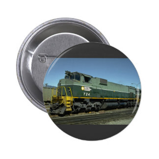 Canada, British Columbia, Ry MLW M630 Pinback Button