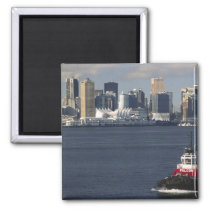 Canada, British Columbia, Vancouver. Downtown Magnet