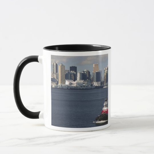 Canada, British Columbia, Vancouver. Downtown Mug