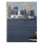 Canada, British Columbia, Vancouver. Downtown Note Book