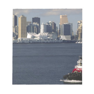 Canada, British Columbia, Vancouver. Downtown Notepad