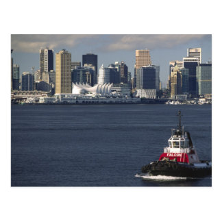 Canada, British Columbia, Vancouver. Downtown Postcard