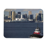 Canada, British Columbia, Vancouver. Downtown Rectangular Photo Magnet