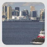 Canada, British Columbia, Vancouver. Downtown Stickers