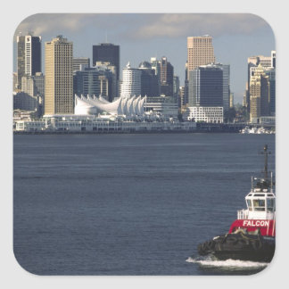 Canada British Columbia Vancouver Downtown Stickers
