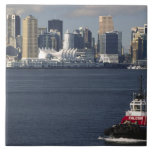 Canada, British Columbia, Vancouver. Downtown Tiles
