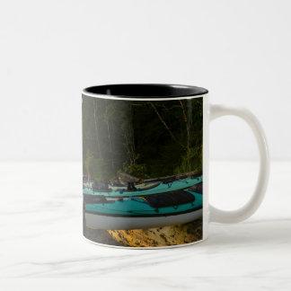 Canada, British Columbia, Vancouver Island, 2 Two-Tone Coffee Mug
