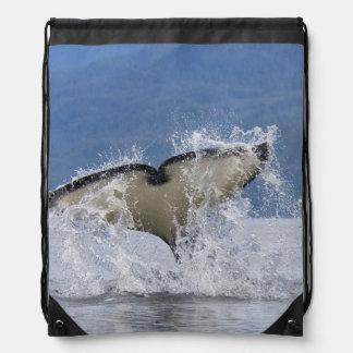 Canada, British Columbia, Vancouver Island, Drawstring Bag