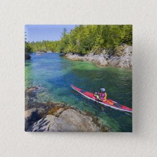 Canada, British Columbia, Vancouver Island. Sea 2 Button