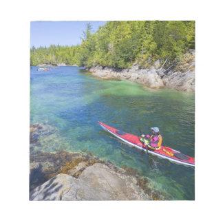 Canada, British Columbia, Vancouver Island. Sea 2 Notepad