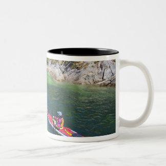 Canada, British Columbia, Vancouver Island. Sea 2 Two-Tone Coffee Mug