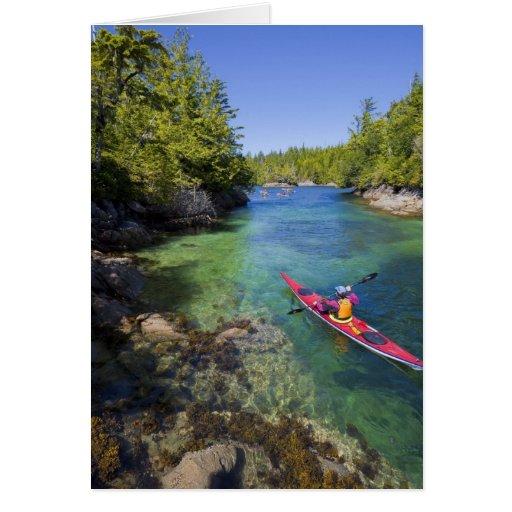 Canada, British Columbia, Vancouver Island. Sea Card
