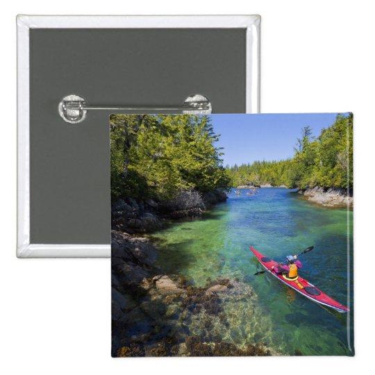 Canada, British Columbia, Vancouver Island. Sea Pinback Button