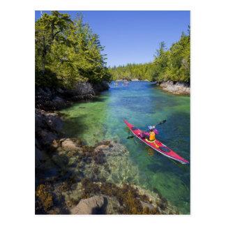 Canada, British Columbia, Vancouver Island. Sea Postcard