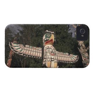 Canada, British Columbia, Vancouver.  Native iPhone 4 Case