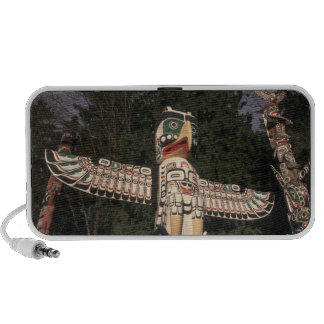 Canada, British Columbia, Vancouver.  Native Mini Speakers
