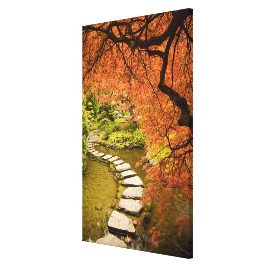 CANADA, British Columbia, Victoria. Autumn Canvas Print