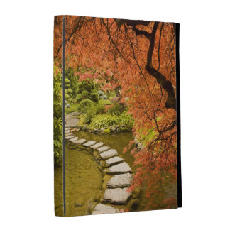 CANADA, British Columbia, Victoria. Autumn iPad Folio Case
