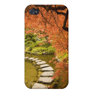 CANADA, British Columbia, Victoria. Autumn Case For iPhone 4