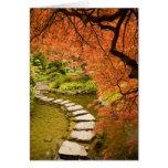 CANADA, British Columbia, Victoria. Autumn Greeting Card