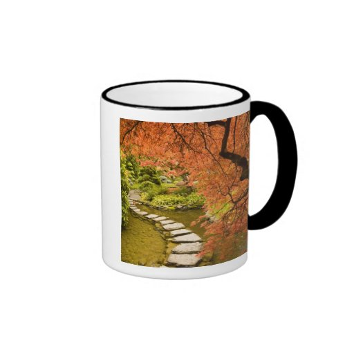 CANADA, British Columbia, Victoria. Autumn Coffee Mugs
