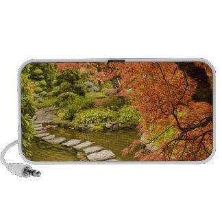 CANADA, British Columbia, Victoria. Autumn iPod Speakers