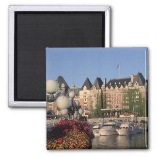 Canada, British Columbia, Victoria Empress Hotel 2 Inch Square Magnet