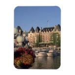 Canada, British Columbia, Victoria Empress Hotel Rectangular Photo Magnet