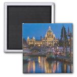 Canada, British Columbia, Victoria, Inner 2 Inch Square Magnet