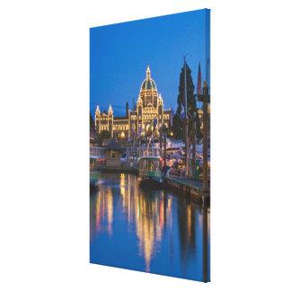 Canada, British Columbia, Victoria, Inner Canvas Print